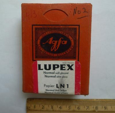 Agfa Lupex Photographic Paper