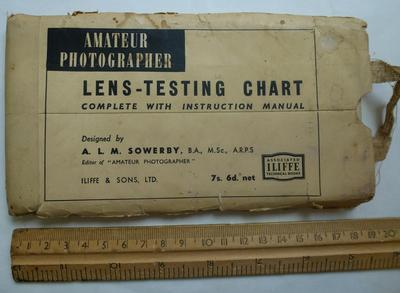 Lens Testing Chart