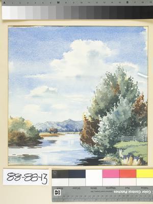 (Untitled) river scene