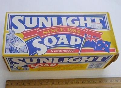 Sunlight Soap box
