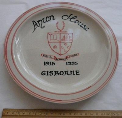Ayton House commemorative plate