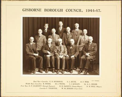 Gisborne Borough Council, 1944-47