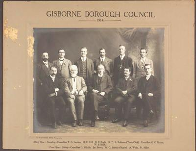 Gisborne Borough Council 1914
