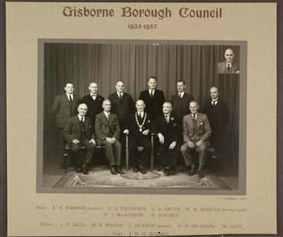Gisborne Borough Council 1933-1935
