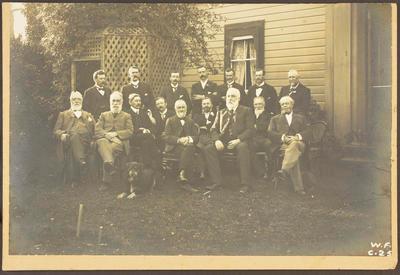 Gisborne Borough Councillors At John Townley's; 1902; 42079