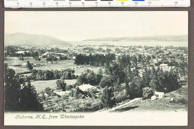 Gisborne, N.Z., from Whataupoko
