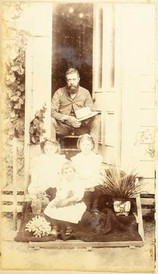 C P Davies and daughters