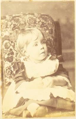Child, possibly Nina Davies