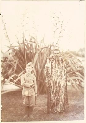 William Pearson Davies and unknown man