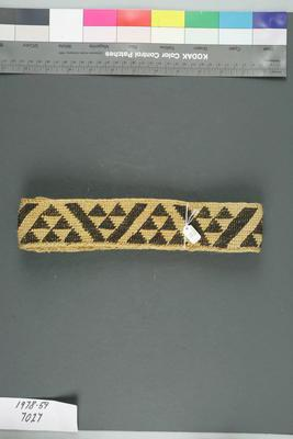 Headband, Tāniko