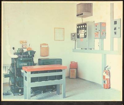 Kaiti Hill VHF Station Engine Room