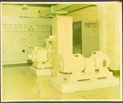 Two DC Generators and Switch Board
