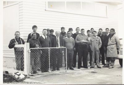 Post office and Telegraph Staff: Te Araroa Auto Exchange