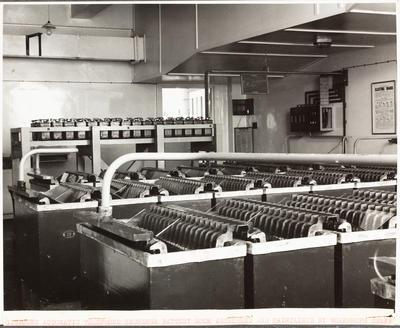 Gisborne Automatic Telephone Exchange Battery Room