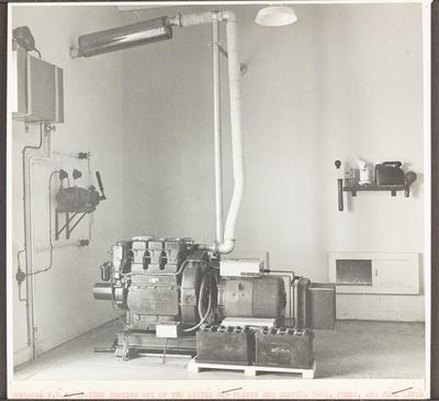Mahanga VHF Station, interior