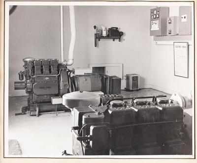 Mahanga VHF Station interior