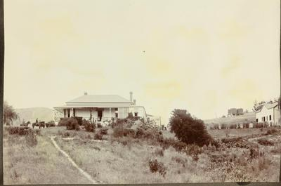 Wairakaia Station homestead