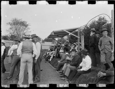 Lawn bowls, Gisborne Bowling Club, 1896.