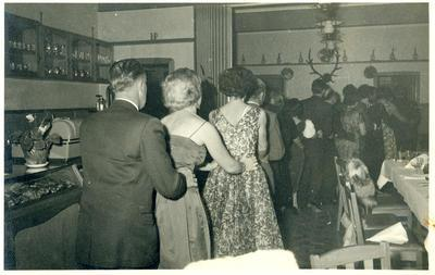 Dancing at Chalet Rendezvous