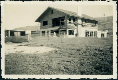 Chalet Rendezvous construction