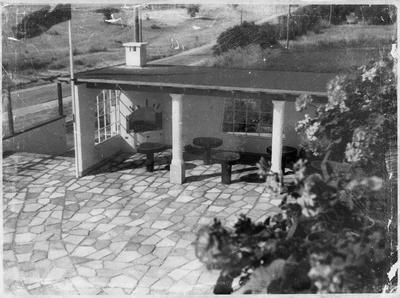 Chalet Rendezvous patio