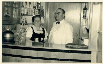 Chalet Rendezvous bar