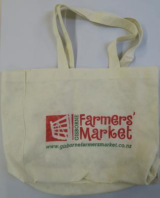 Gisborne Farmers' Market bag