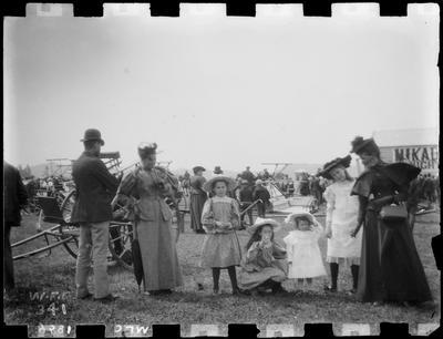People, A & P Show, 1896.