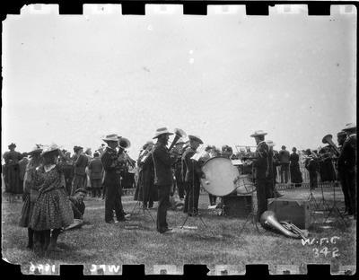 Band, A & P Show, 1896.