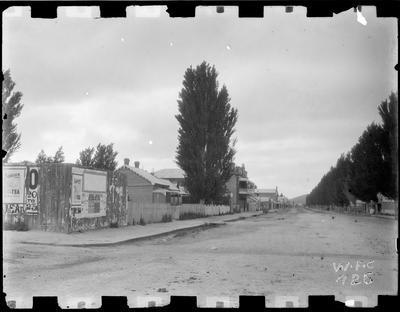 Gladstone Road & Cobden Street corner 1896.