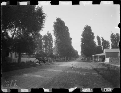 Childers Road, Masonic Hall on left.