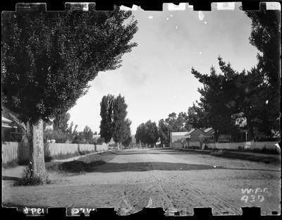 Unidentified street, 1896.