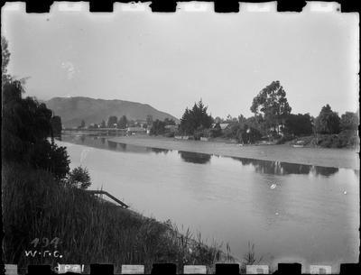 Taruheru River, 1896.