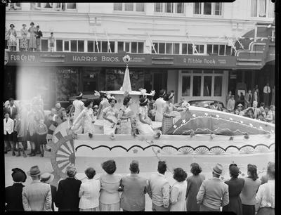 Civic Procession: float, possibly Chinese Association