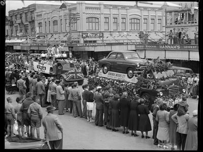 Civic Procession: Ormonds Motors, YMCA