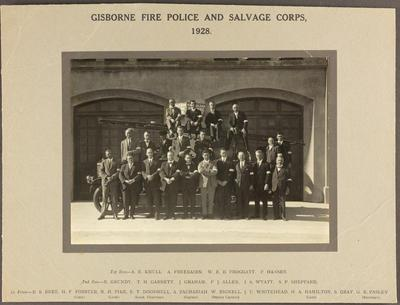 Gisborne Fire Police and Salvage Corps