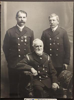 Superintendent Townley and senior officers