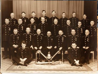 Gisborne Fire Brigade Jubilee 1933