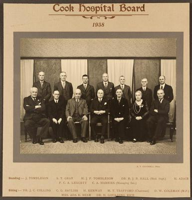 Cook Hospital Board