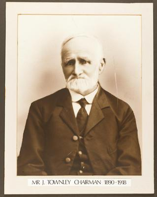 Gisborne Harbour Board Chairman: John Townley 1890 - 1918