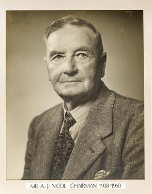 Gisborne Harbour Board Chairman: J A Nicol 1938 - 1950