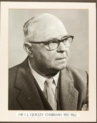 Gisborne Harbour Board Chairman: I J Quigley 1951 - 1962