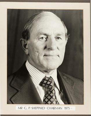 Gisborne Harbour Board Chairman: G P Sheppard 1975 -