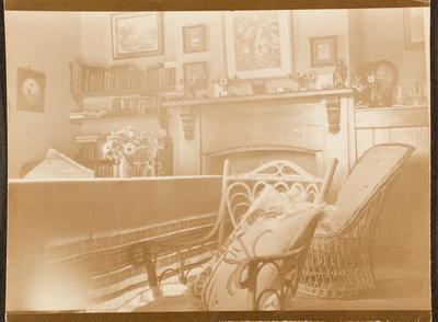 Sitting room at Torohiwi