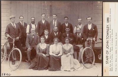Staff of John Townley's Shop