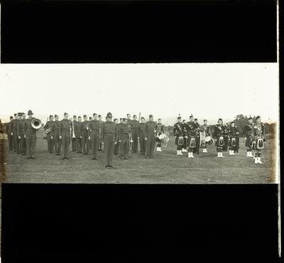 Home Guard: Pipe and band parade