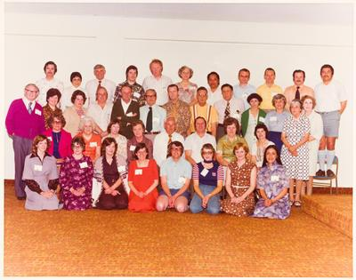 Inland Revenue Gisborne staff photo, 21st anniversary