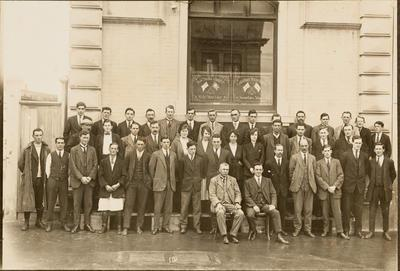 Office staff and store employees of Common Shelton & Co. Ltd. Gisborne