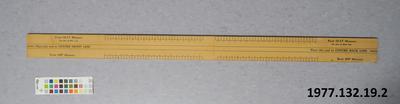 Dressmaker's measure
