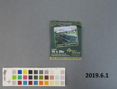 Pete's post : stamp booklet